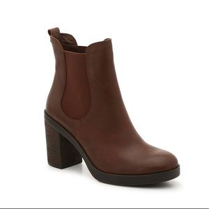 Crown Vintage Brown Ankle Boot